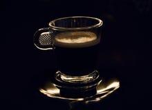 Filiżanka kawy w depresja kluczu zdjęcia royalty free