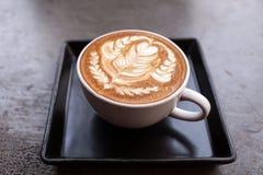 Filiżanka latte kawa zdjęcia stock