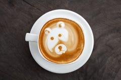 Filiżanka latte kawa zdjęcie royalty free