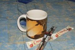 Filiżanka Przygotowywająca Dla kawy obraz stock