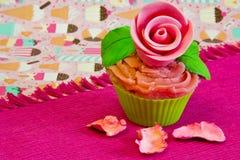 Filiżanka tort zdjęcie royalty free