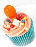 Filiżanka tort słodki Tort obraz stock