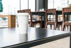 Filiżanka w sklep z kawą obrazy royalty free