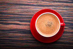Filiżanka z latte Obrazy Royalty Free