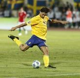 filiżanki Fifa Hungary określnik Sweden vs świat Obraz Stock