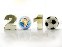 filiżanki futbolu świat Zdjęcia Royalty Free