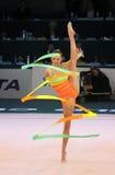 filiżanki gimnastyk rytmiczny świat zdjęcia stock