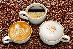 Filiżanki kawy zdjęcie stock
