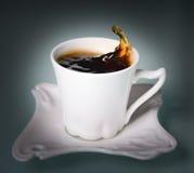 Filiżanki kawy czerń obrazy royalty free