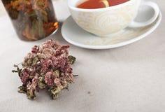 Filiżanki o ziołowa herbata Zdjęcia Stock