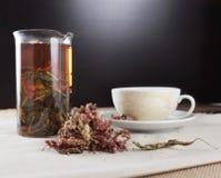 Filiżanki o ziołowa herbata Zdjęcia Royalty Free