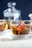 Filiżanki oolong herbaty szkło Zdjęcie Stock