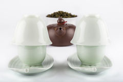 filiżanek ilustracyjny ustalony herbaty wektor Fotografia Stock