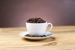Filiżanek kaw fasole zdjęcie stock