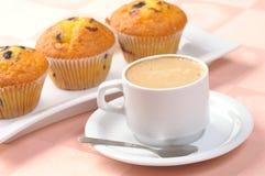 filiżanek muffins Obraz Stock
