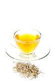filiżanek porady srebne herbaciane Fotografia Stock