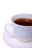 filiżanka biel odosobniony herbaciany obrazy royalty free