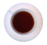 filiżanka biel odosobniony herbaciany obraz royalty free