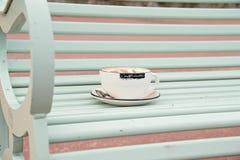 Filiżanka cappuccino Fotografia Royalty Free