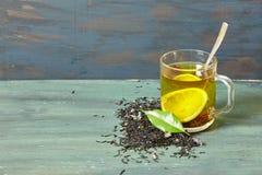 Filiżanka cytryny herbata Zdjęcia Royalty Free