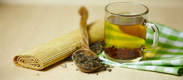 Filiżanka cytryny herbata obraz stock