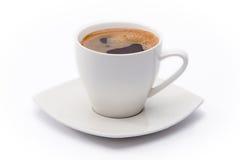 Filiżanka czarna kawa Obrazy Royalty Free