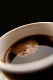 Filiżanka czarny kawa Zdjęcie Royalty Free