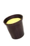 filiżanka czekoladowy jajecznik Obraz Stock