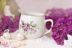 Filiżanka herbata lub kawa Zdjęcia Stock