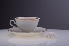Czas dla filiżanki herbata Zdjęcia Royalty Free