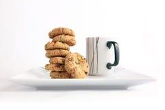 Filiżanka herbata z ciastkami Obraz Royalty Free