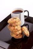 Filiżanka herbata z ciastkami Fotografia Royalty Free