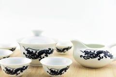 Filiżanka i herbaciany garnek Obrazy Royalty Free