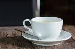 Filiżanka i kawa Fotografia Stock