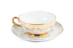 Filiżanka i teapot od porcelany Obrazy Stock