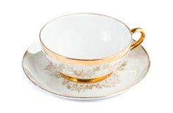 Filiżanka i teapot od porcelany Obraz Stock