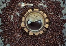 Filiżanka kawy Fotografia Stock