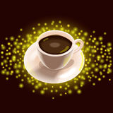Filiżanka kawy ilustracji