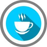 Filiżanka Kawy szablon i logo fotografia stock
