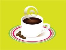 Filiżanka kawy z soucer Zdjęcie Stock