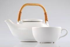 filiżanka kettle Zdjęcie Stock