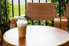 filiżanka lodowa kawa Obrazy Stock