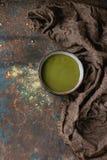 Filiżanka matcha herbata Obrazy Stock