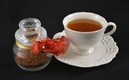 Filiżanka smakowici rooibos herbaciani Zdjęcia Stock