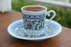 Filiżanka turecka kawa Zdjęcia Royalty Free