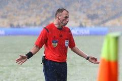 Filiżanka Ukraina: FC dynamo Kyiv v Zorya Luhansk zdjęcia royalty free