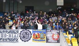 Filiżanka Ukraina: FC dynamo Kyiv v Zorya Luhansk w Kijów obrazy stock