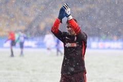 Filiżanka Ukraina: FC dynamo Kyiv v Zorya Luhansk w Kijów Obrazy Royalty Free