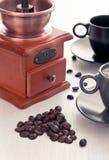 Filiżanka z kawowym ostrzarzem Fotografia Royalty Free