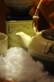 filiżanki anglików stylowa herbata Obraz Royalty Free